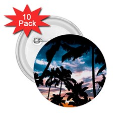 Palm Trees Summer Dream 2 25  Buttons (10 Pack)