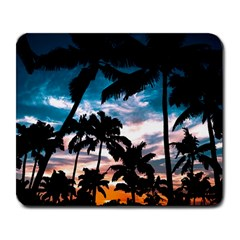Palm Trees Summer Dream Large Mousepads