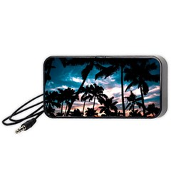 Palm Trees Summer Dream Portable Speaker by augustinet
