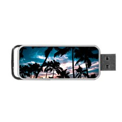 Palm Trees Summer Dream Portable Usb Flash (one Side) by augustinet