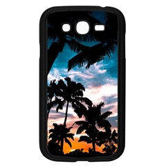 Palm Trees Summer Dream Samsung Galaxy Grand Duos I9082 Case (black) by augustinet