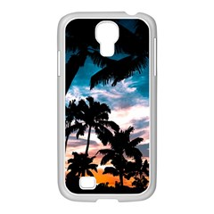 Palm Trees Summer Dream Samsung Galaxy S4 I9500/ I9505 Case (white) by augustinet