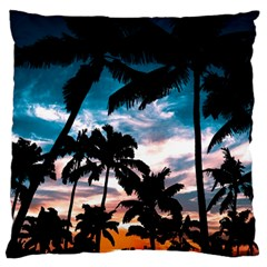 Palm Trees Summer Dream Standard Flano Cushion Case (one Side) by augustinet