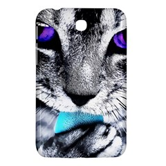 Purple Eyes Cat Samsung Galaxy Tab 3 (7 ) P3200 Hardshell Case  by augustinet