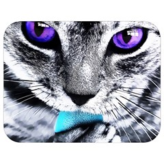 Purple Eyes Cat Full Print Lunch Bag by augustinet