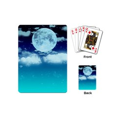 Dreamy Night Playing Cards (mini)  by augustinet