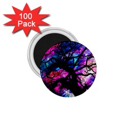 Star Field Tree 1 75  Magnets (100 Pack)  by augustinet