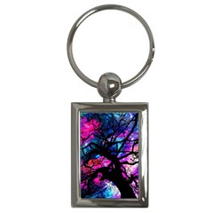 Star Field Tree Key Chains (rectangle)  by augustinet