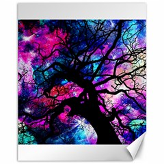 Star Field Tree Canvas 11  X 14   by augustinet