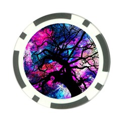 Star Field Tree Poker Chip Card Guard (10 Pack) by augustinet