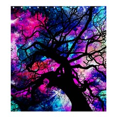 Star Field Tree Shower Curtain 66  X 72  (large)  by augustinet