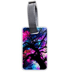 Star Field Tree Luggage Tags (two Sides) by augustinet
