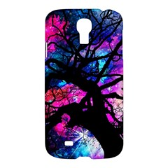 Star Field Tree Samsung Galaxy S4 I9500/i9505 Hardshell Case by augustinet