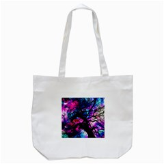 Star Field Tree Tote Bag (white) by augustinet