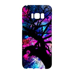 Star Field Tree Samsung Galaxy S8 Hardshell Case  by augustinet