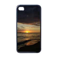 Sunset On Rincon Puerto Rico Apple Iphone 4 Case (black) by StarvingArtisan