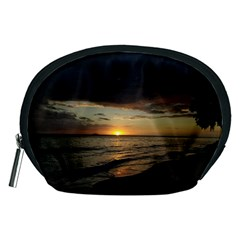 Sunset On Rincon Puerto Rico Accessory Pouches (medium)  by StarvingArtisan