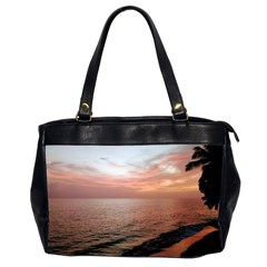 Sunset On Rincon Puerto Rico Office Handbags (2 Sides)  by StarvingArtisan