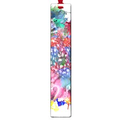 Rainbow Owl Large Book Marks by augustinet