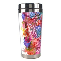 Rainbow Owl Stainless Steel Travel Tumblers by augustinet