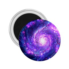 Ultra Violet Whirlpool Galaxy 2 25  Magnets by augustinet