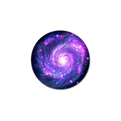 Ultra Violet Whirlpool Galaxy Golf Ball Marker (10 Pack) by augustinet