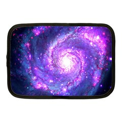 Ultra Violet Whirlpool Galaxy Netbook Case (medium)  by augustinet