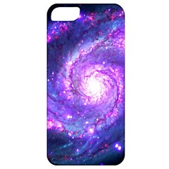 Ultra Violet Whirlpool Galaxy Apple Iphone 5 Classic Hardshell Case by augustinet