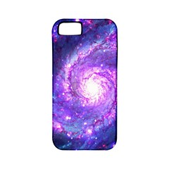 Ultra Violet Whirlpool Galaxy Apple Iphone 5 Classic Hardshell Case (pc+silicone) by augustinet