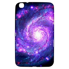 Ultra Violet Whirlpool Galaxy Samsung Galaxy Tab 3 (8 ) T3100 Hardshell Case  by augustinet