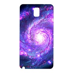 Ultra Violet Whirlpool Galaxy Samsung Galaxy Note 3 N9005 Hardshell Back Case by augustinet