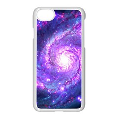Ultra Violet Whirlpool Galaxy Apple Iphone 7 Seamless Case (white) by augustinet