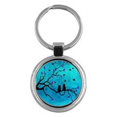 Lovecats Key Chains (round)  by augustinet