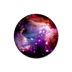 Deep Space Dream Rubber Round Coaster (4 Pack)  by augustinet