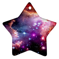 Deep Space Dream Star Ornament (two Sides) by augustinet
