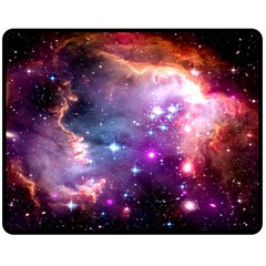 Deep Space Dream Double Sided Fleece Blanket (medium)  by augustinet