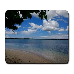 Isla Puerto Rico Large Mousepads by StarvingArtisan
