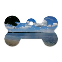 Isla Puerto Rico Dog Tag Bone (two Sides) by StarvingArtisan