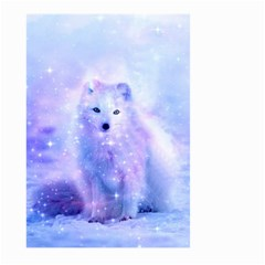 Arctic Iceland Fox Large Garden Flag (two Sides) by augustinet