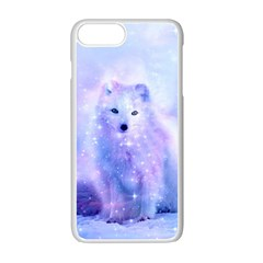 Arctic Iceland Fox Apple Iphone 7 Plus Seamless Case (white) by augustinet