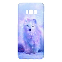Arctic Iceland Fox Samsung Galaxy S8 Plus Hardshell Case  by augustinet