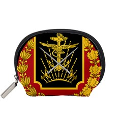 Logo Of Imperial Iranian Ministry Of War Accessory Pouches (small)  by abbeyz71