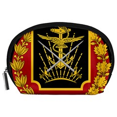 Logo Of Imperial Iranian Ministry Of War Accessory Pouches (large)  by abbeyz71