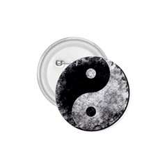 Grunge Yin Yang 1 75  Buttons by Valentinaart