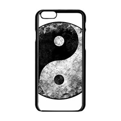 Grunge Yin Yang Apple Iphone 6/6s Black Enamel Case