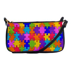 Colorful 10 Shoulder Clutch Bags by ArtworkByPatrick