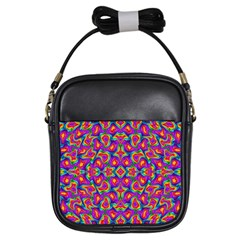 Colorful 11 Girls Sling Bags by ArtworkByPatrick