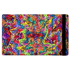 Colorful 12 Apple Ipad 3/4 Flip Case by ArtworkByPatrick