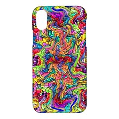 Colorful 12 Apple Iphone X Hardshell Case by ArtworkByPatrick