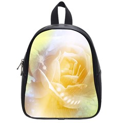Beautiful Yellow Rose School Bag (small) by FantasyWorld7
